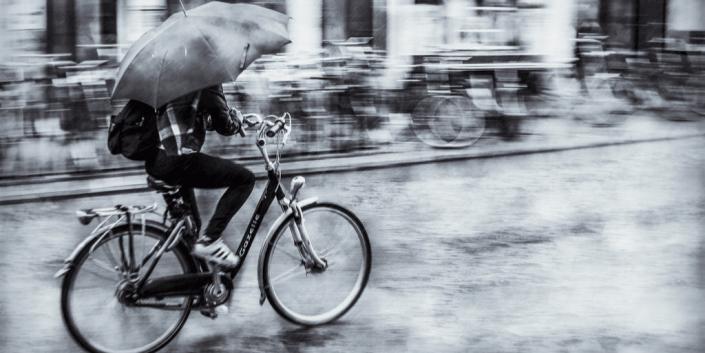 bici ombrello