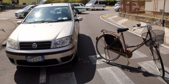 sinistro bici
