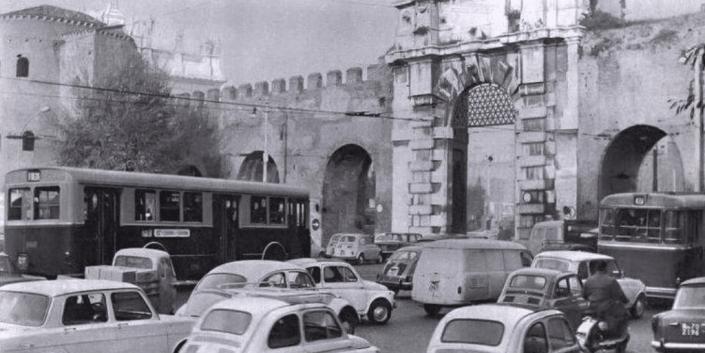 Piazzale Appio anni 60