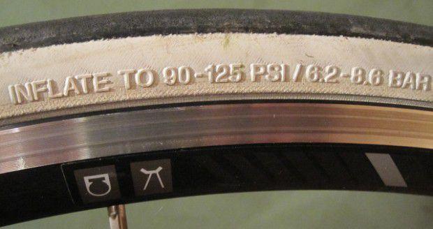 pressione pneumatici bicicletta