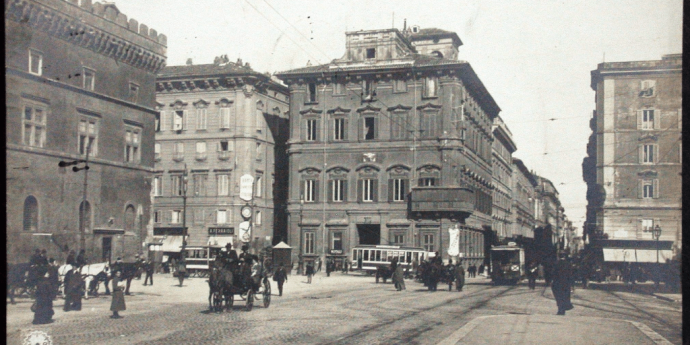 piazza venezia una vista primi 900