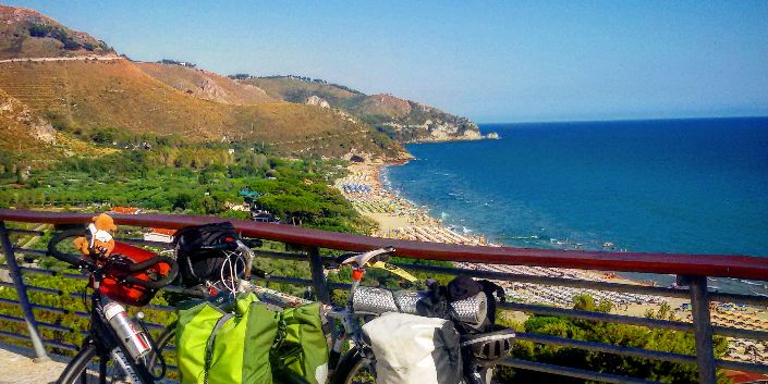bici con vista