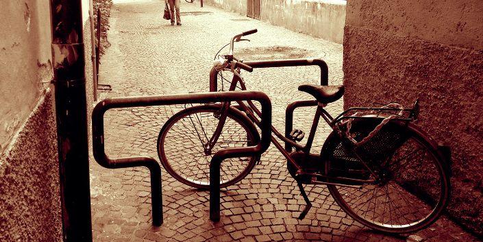 bici area pedonale